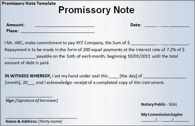 Promissory note sample hospital template: resume examples.